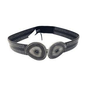 NWT Express Black Studded Belt, Size S/M